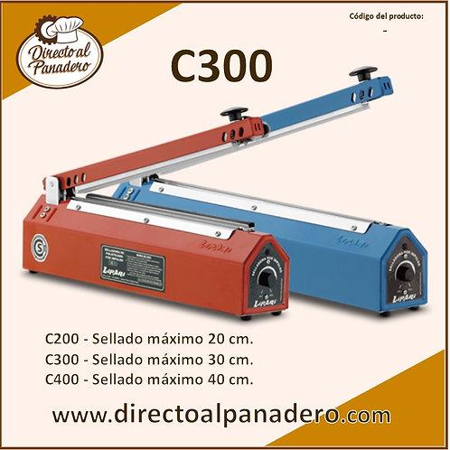 Selladora Manual Tipo Cizalla C300