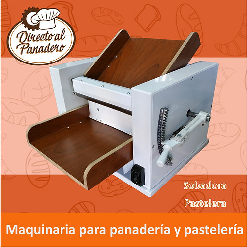 Sobadora Pastelera de Mesa 400 mm REFORZADA