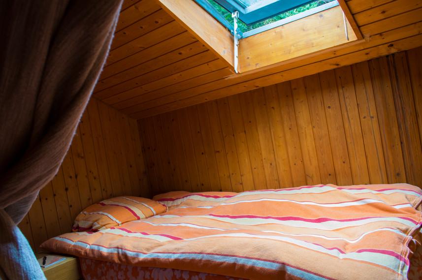 swiss hostel bedroom