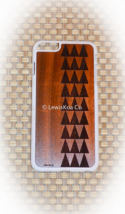 Koa Iphone Case,Tribal Mauna