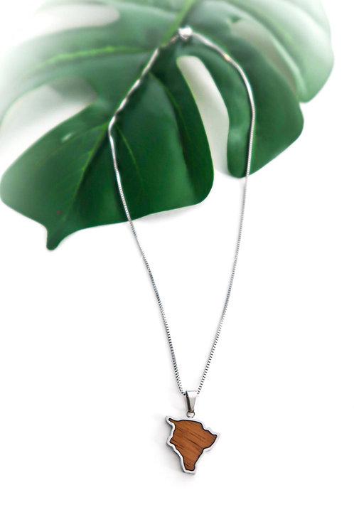 Koa Big Island Necklace