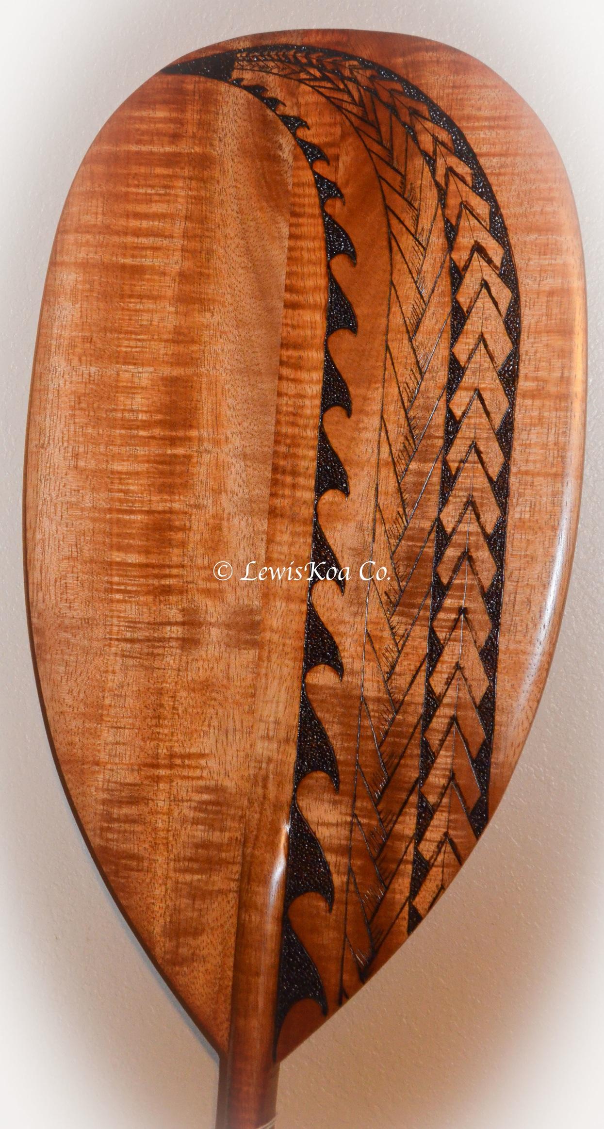 Koa paddle