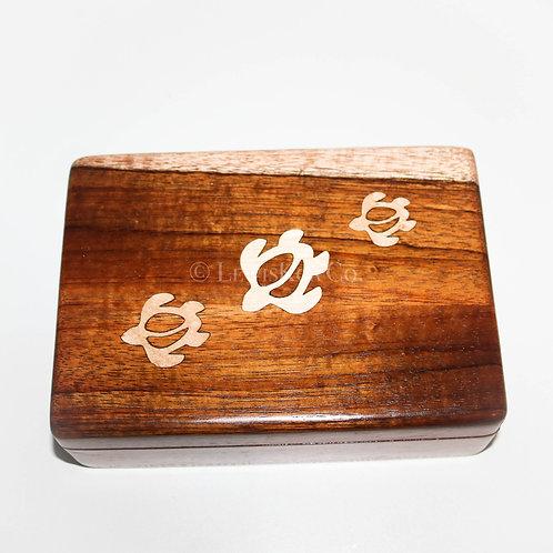 Honu Inlay Koa Box (BXH500)