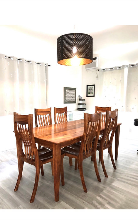 6 pc. Koa Dining Set