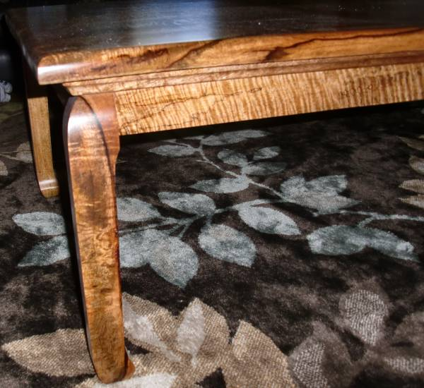 Koa wooden table quality