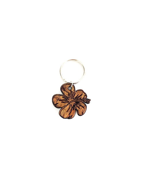 Hibiscus Koa Collar Charm