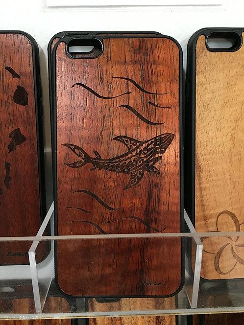 Koa Iphone Case,Tribal Shark