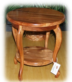"18"" Two Tier End Table"