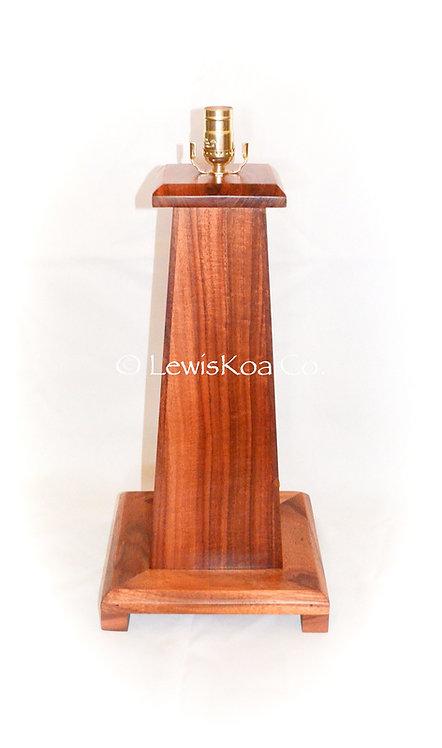 """Lighthouse"" Koa Table  Lamp"