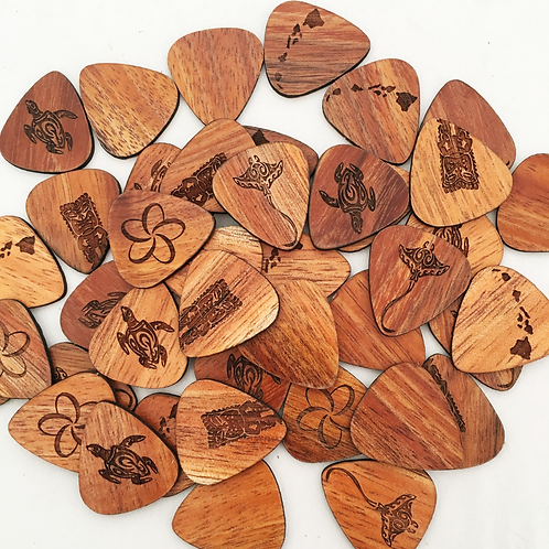 Koa Instrument Picks