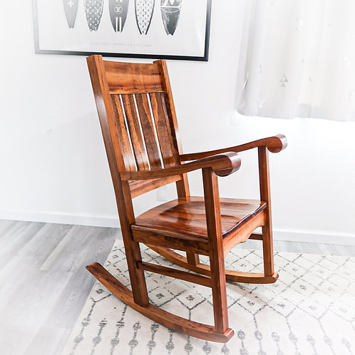 Queen Liliuokalani Rocking Chair