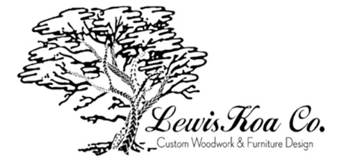 Laser Engraving Graphic Lewiskoa Co Hawaiian Koa