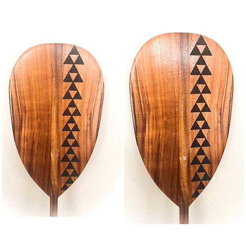 Koa Paddle w/ Mauna Pyrography (KPPY900)