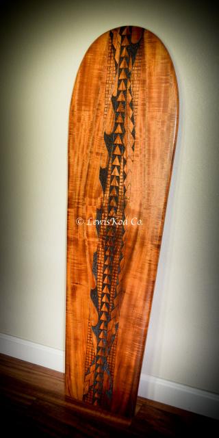 Hawaiian Koa Surfboard
