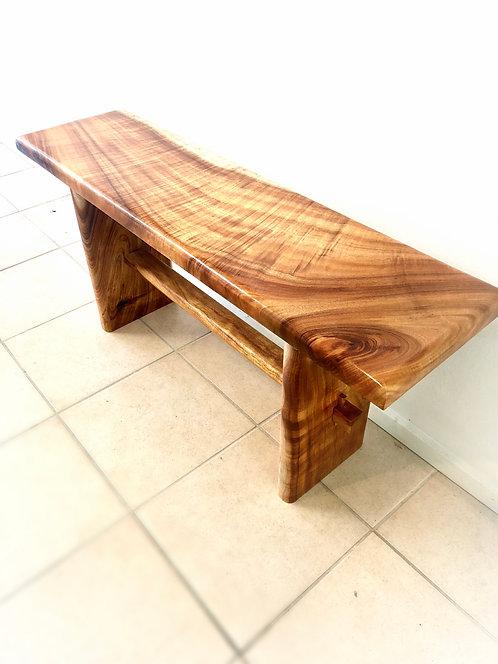 Curly Koa Bench