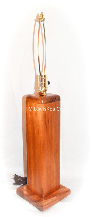 Koa Table Lamp