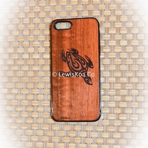 Koa Iphone Case, Tribal honu