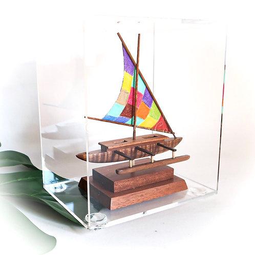 """Mini Koa """"Fiji"""" Canoe"""