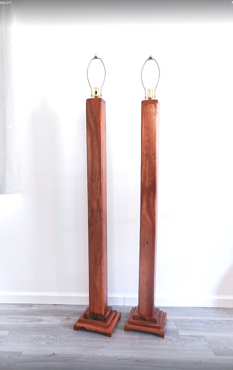 Koa Floor Lamp