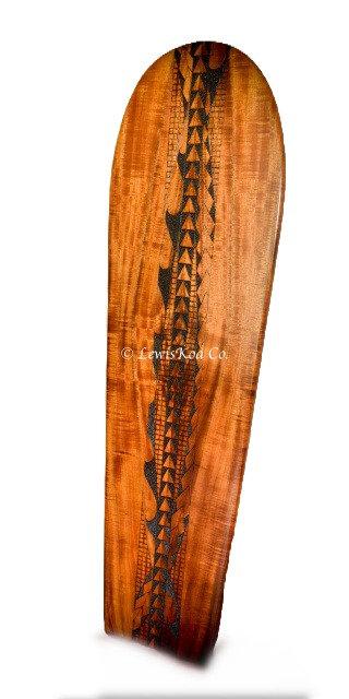 4' Koa Surfboard