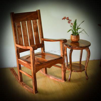 Queen Liliuokalani Rocking Chair