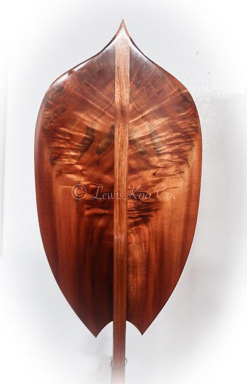 """Koa """"Warrior"""" Paddle"""