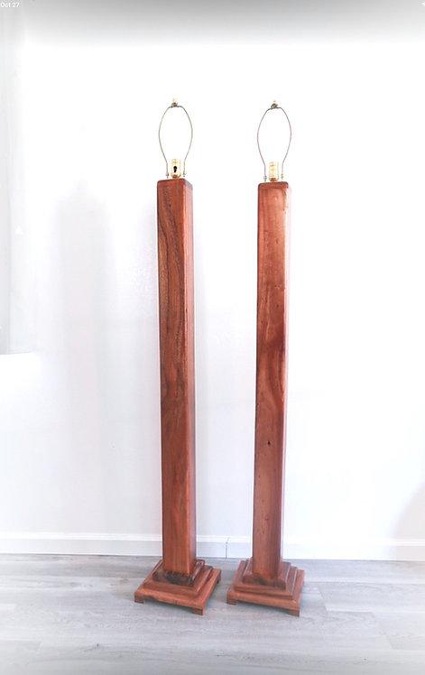 Koa Floor Lamp