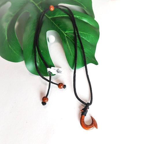 Koa Hook Pendant (KHK021)