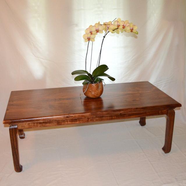Hawaiian Koa Coffee Table