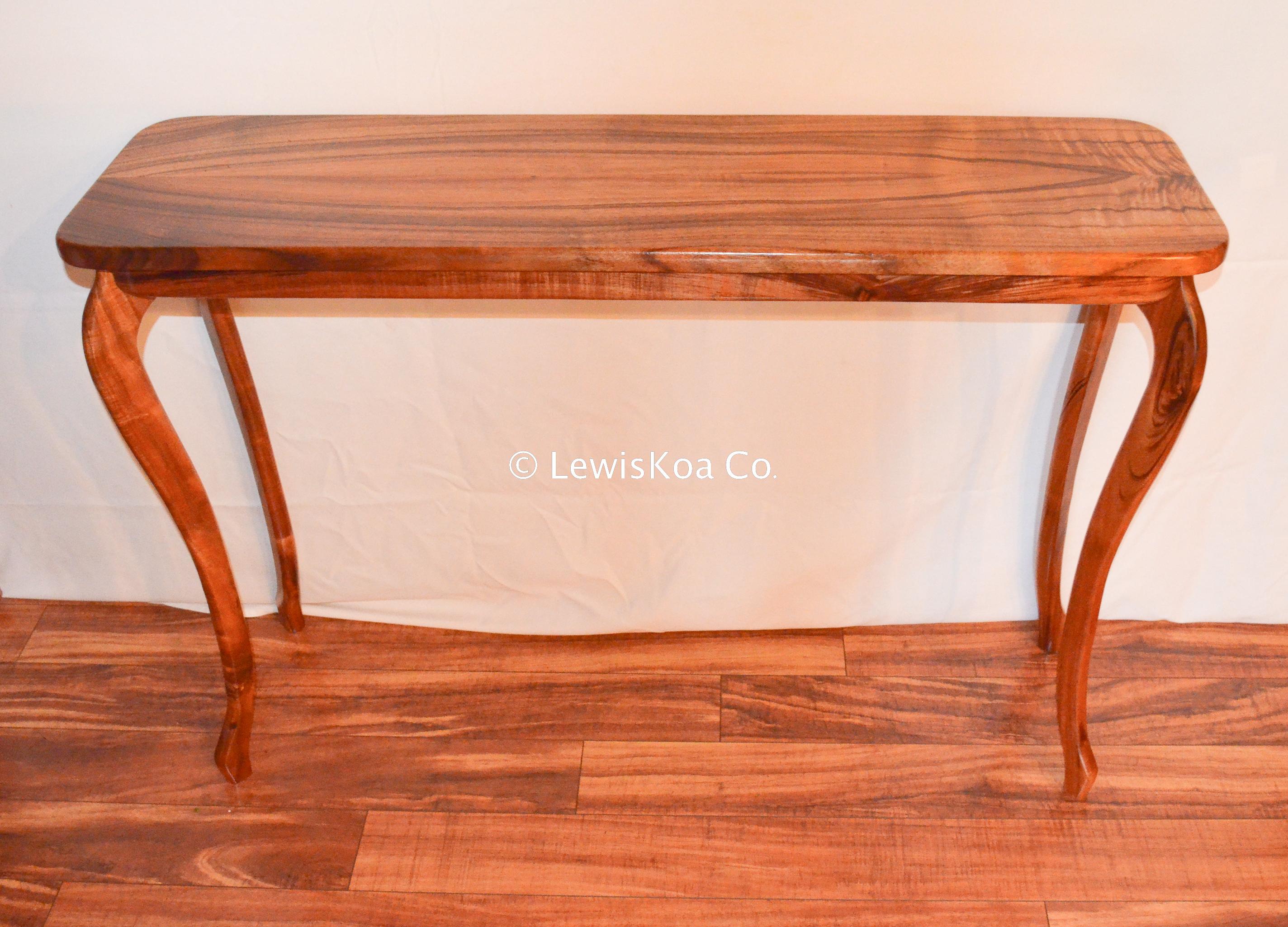 Hawaiian Koa table
