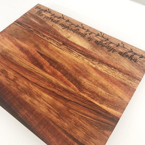 Koa Cutting Board (KCB2)