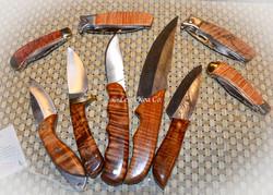 Hawaiian Koa Knives