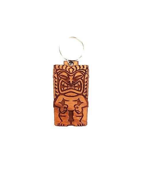 Tiki Koa Collar Charm