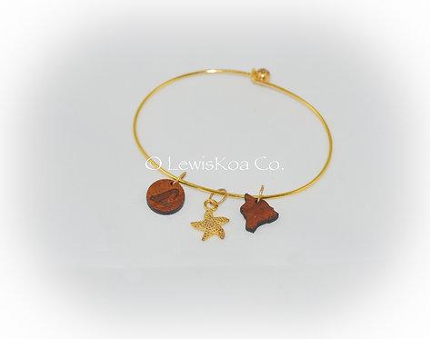 Koa Charms Bracelet