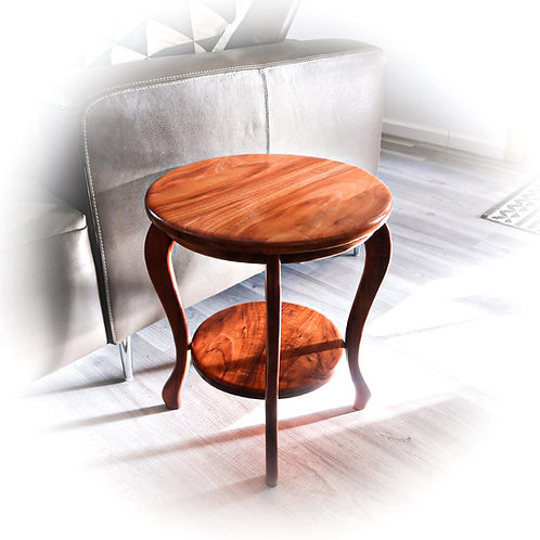 "21""H  Two Tier End Table"