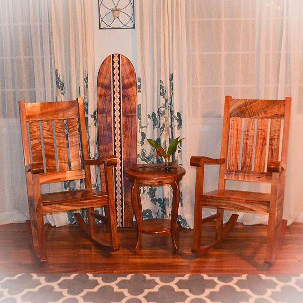 New Furniture And Home Decor Finished Ready For The 2016 Made In Hawaii Show