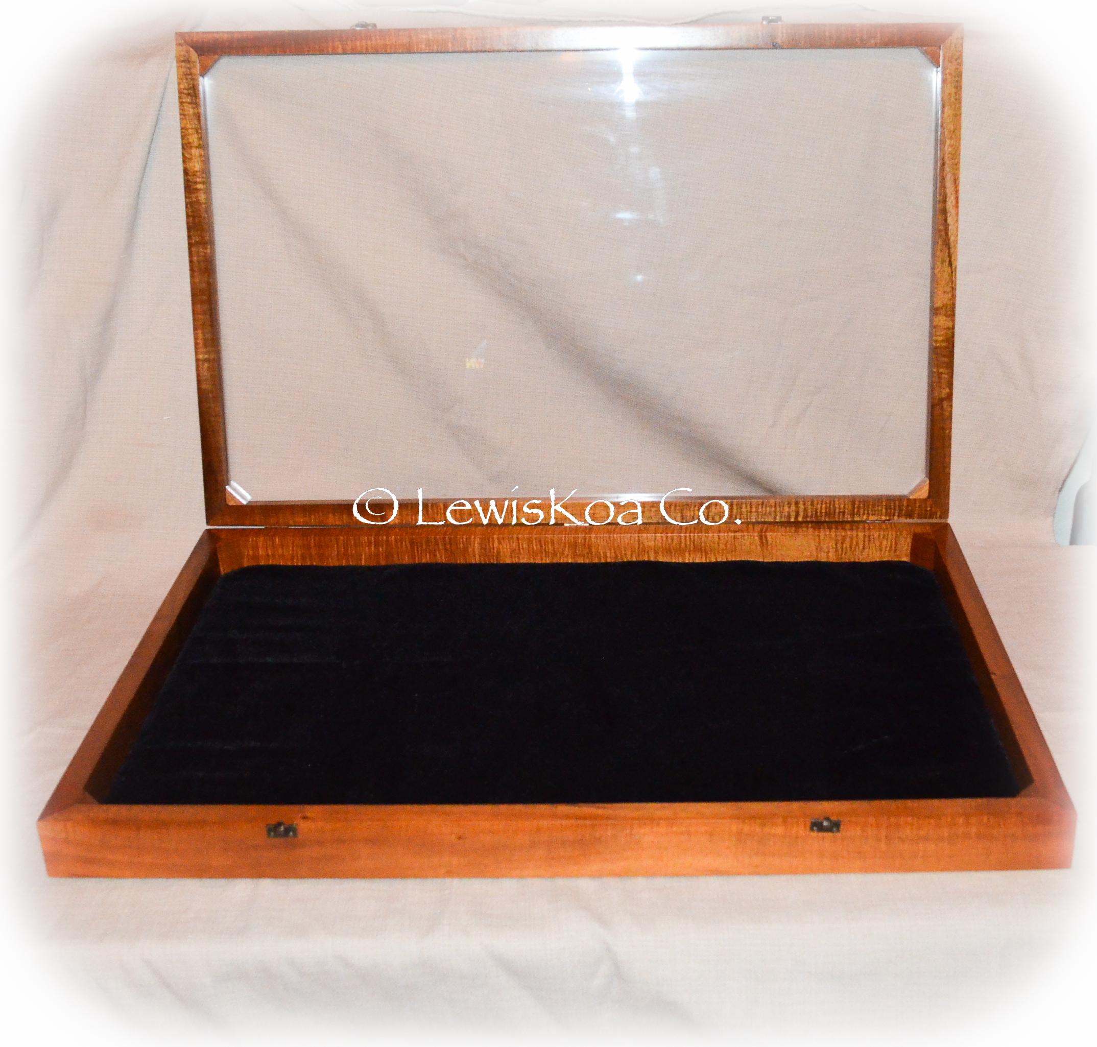 Koa wood Shadow Box