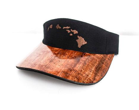 Koa visor , Black