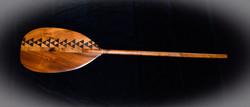 Koa tribal paddle