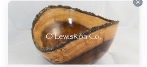 Koa Natural edge bowl
