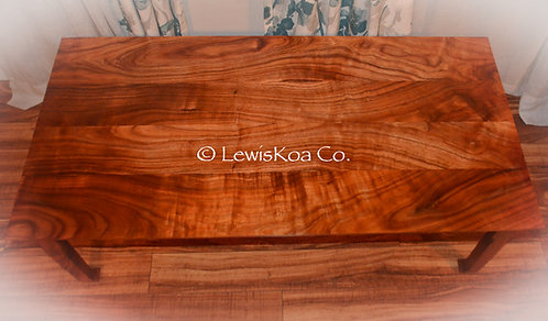 Koa Coffee Table