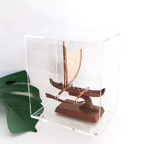 Mini Koa Racing Canoe