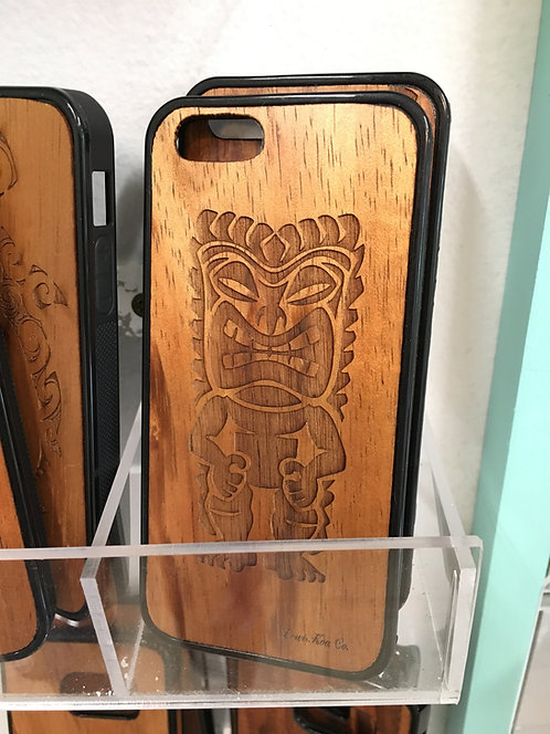 Koa Iphone Case, Tiki