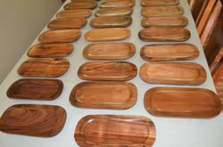 Hawaiian Koa platters