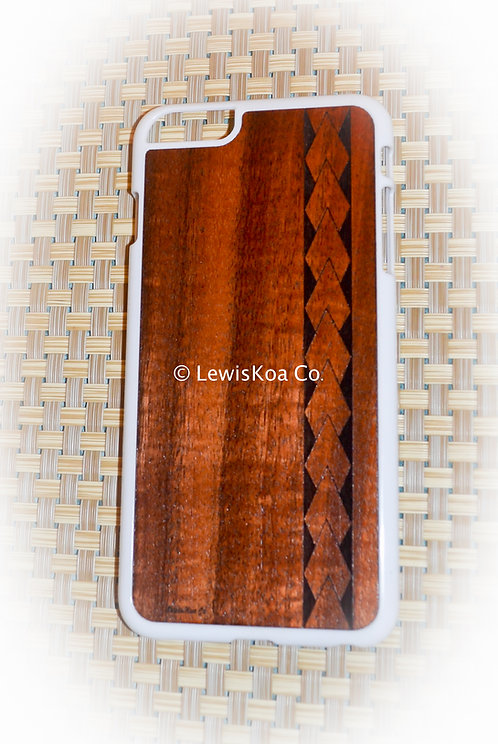 Koa Iphone Case,Tribal Spear