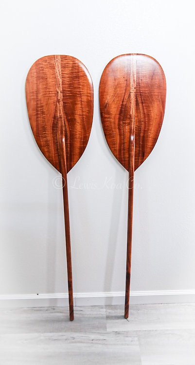Curly Koa Paddle Set (CKPS3)