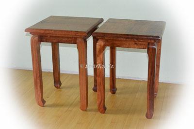 Hawaiian Koa Nicola side tables
