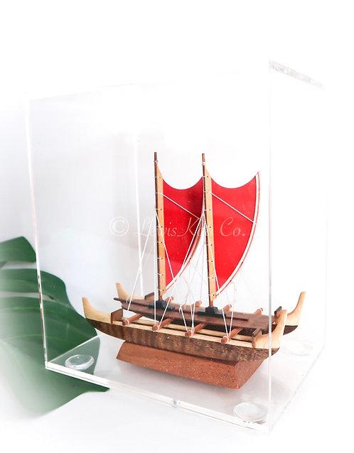 Koa Hokulea Canoe