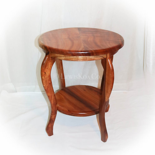"21"" Two Tier End Table"