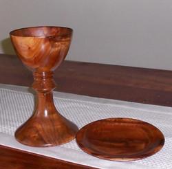 Hawaiian Koa chalice